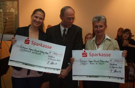 v.l.: Katharina Gotzler, Reinhard Schmidt, Friedel Grützmacher