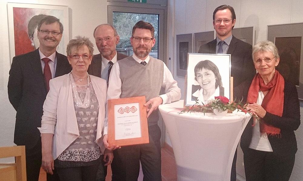 """Verleihung des Stiftungspreises an das Projekt """"Toleranz zwischen Rhein und Jordan"""""""